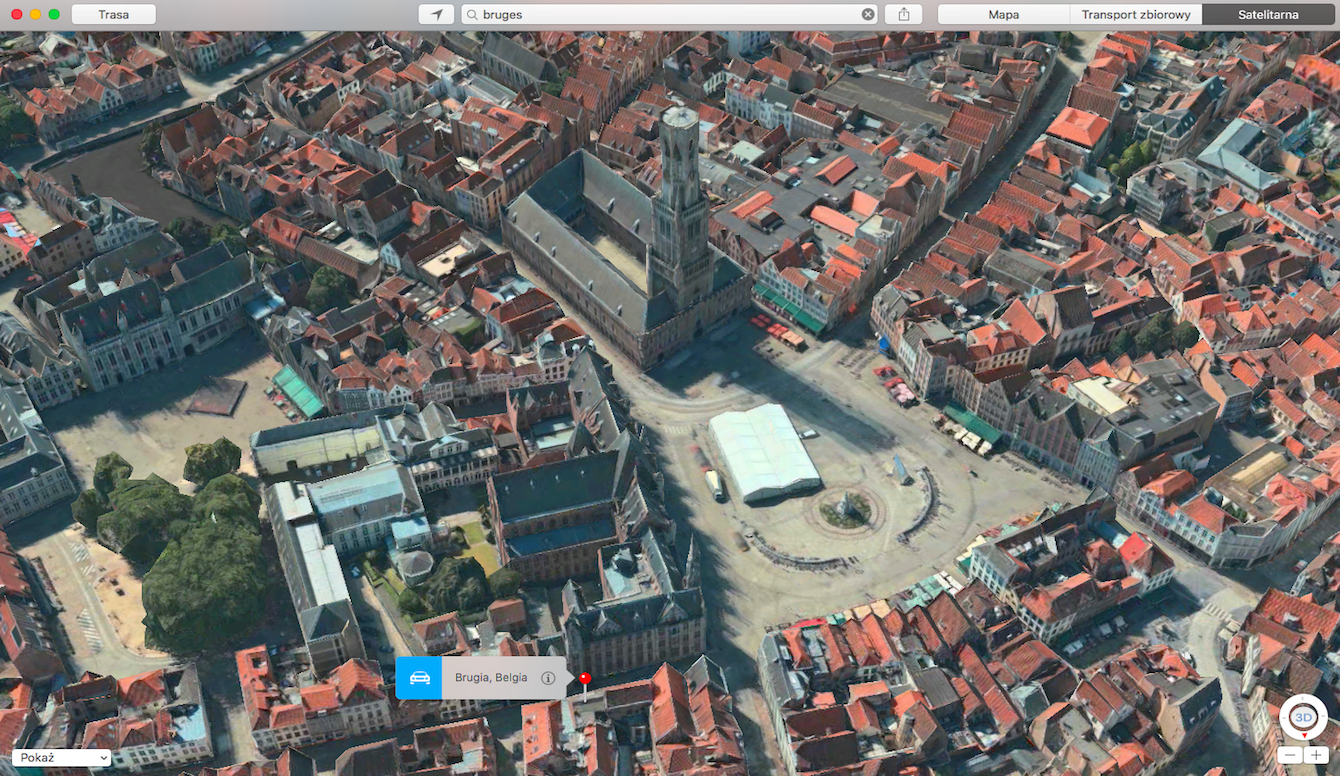 Apple Maps - Bruges