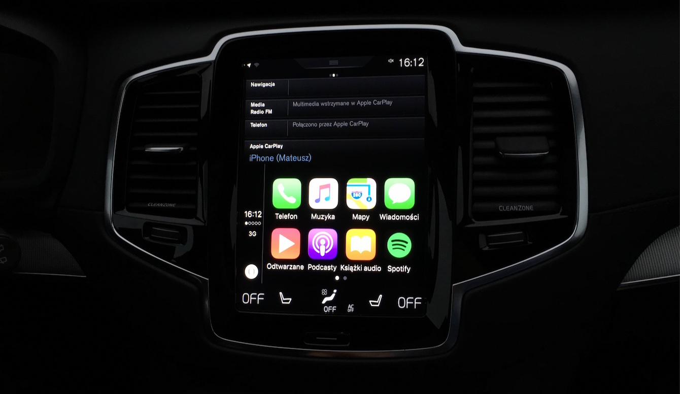 Volvo XC90 - CarPlay - AppleCenter