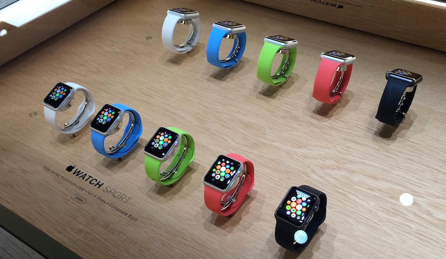 Apple Watch kraje
