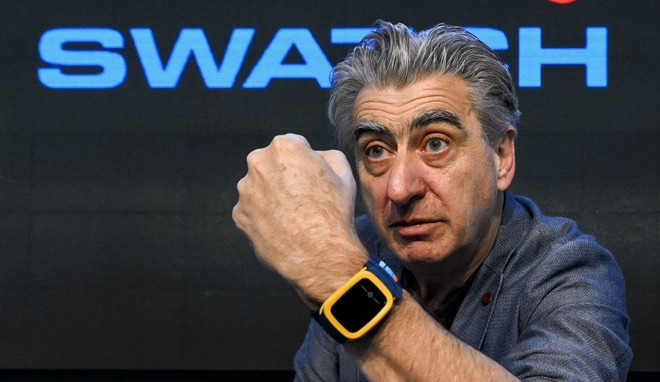 Swatch CEO