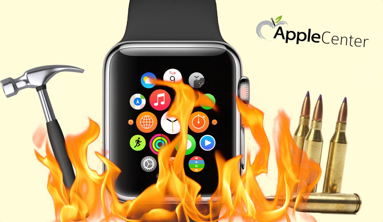 Crashtesty AppleWatch