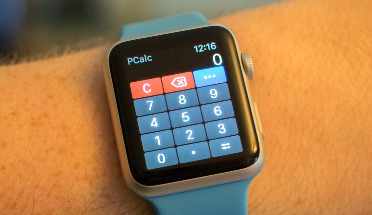 pCalc - Apple Watch