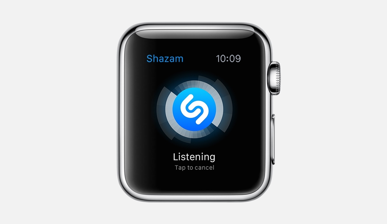 Shazam dla Apple Watch